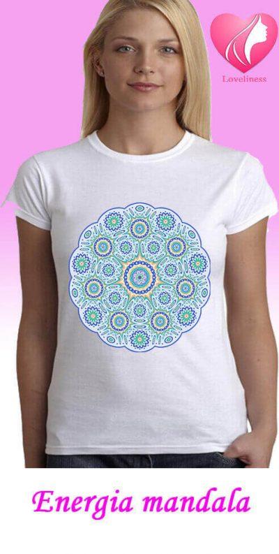 Energia Mandalás női pólókóló