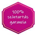 100% színtartó garancia