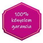 100% kényelem garancia
