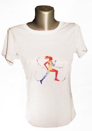 running női póló